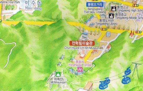 Mireuksan - Yonghwasa - Jeon Hyuck Lim Art Museum: it all looks so easy. And it is.