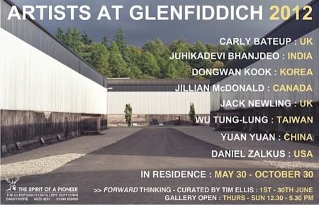 Glenfiddich Artist In Residence poster