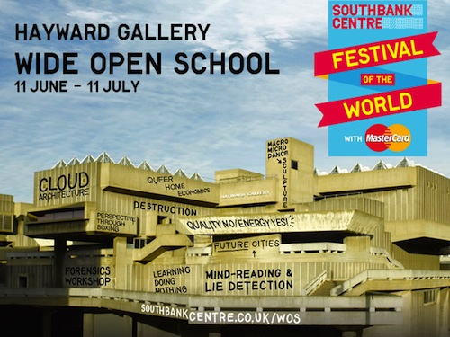 South Bank Wide Open School season
