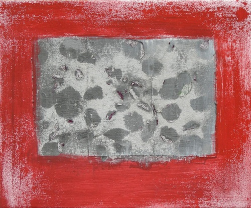Francesca Cho: Fragility (2012). Oil and mixed media on canvas.