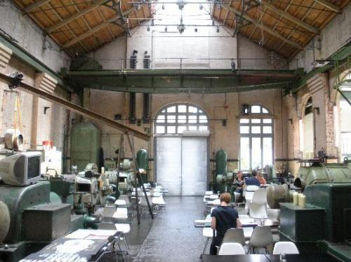 Inside the Wapping Hydraulic Power Station