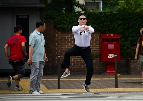 PSY: Gangnam Style (image courtesy YG Entertainment)