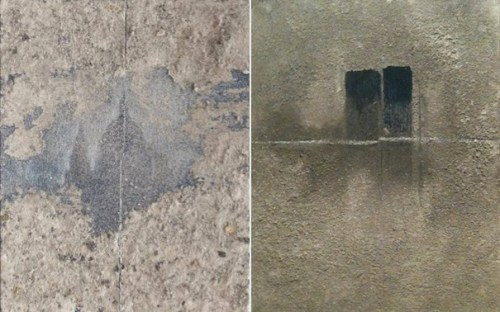 Francesca Cho: This is not just a beautiful picture (2011) (left) with Mortality and Immortality (2012)