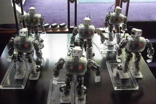 The dancing robots