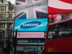 KTO advertisement at Piccadilly Circus, 30 July 2012
