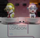 KOTRA, Samsung, Hyundai and KIST display in Harrods window (30 July 2012)