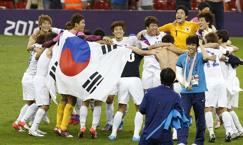 Korea's footballing victory over Japan