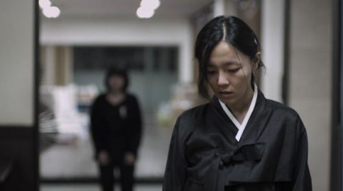 Still from Cho-de by Yoo Min-young