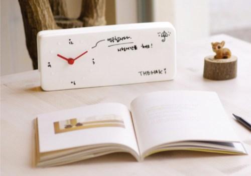 Memo Clock by The Haki (image courtesy of The Haki)