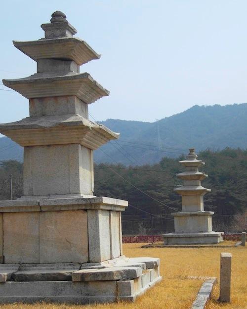 East and West stone pagodas of Dansoksa