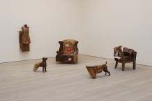 Kim Hyuen Jun: cardboard sculptures