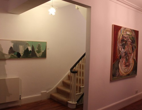 Hyunjhin Baik at 43 Inverness Street: installation view