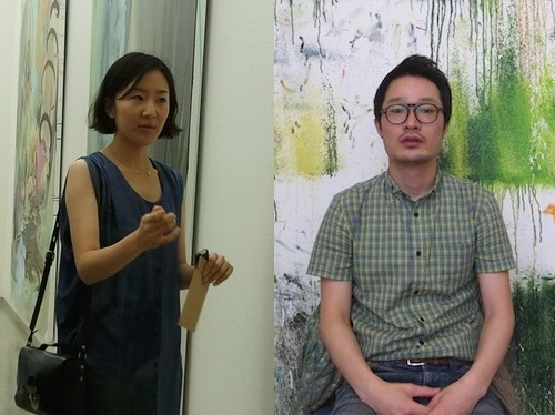 Jin Han Lee (left) and Hyojun Hyun