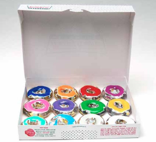 Jungpyo Hong: Artactually-Krispykreme, 37x27x32cm, Mixed media, 2005