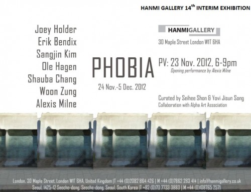 Featured image for post: Exhibition news: Phobia – at Hanmi Gallery