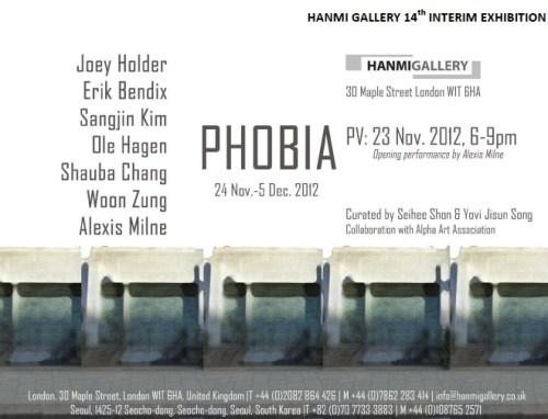 Phobia, at Hanmi Gallery