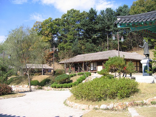 The Kim You-jeong House of Literature in Chuncheon, Gangwon