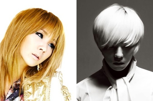 GDragon and CL