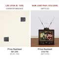 Thumbnail for post: Lee Ufan and Paik Nam June in Christies sale