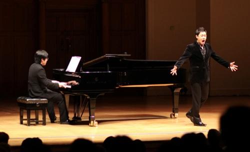 Kim Sunwook (piano) with Park Ji-min (tenor)