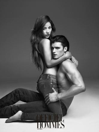 Lee Hyori advertising Calvin Klein jeans