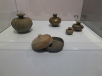 Baekje and Unified Silla oil jars and powder cases