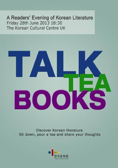 Talk Tea Books poster