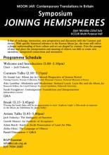 Joining Hemispheres poster