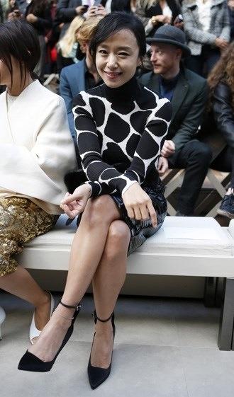 Jeon Do-yeon at London Fashion Week