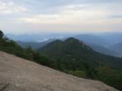 Descending from Cheonwangbong