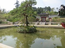 The square pond of the Palace Garden