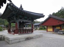 The main temple courtyard