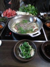 Shabu shabu on the boil