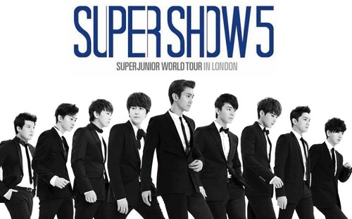 Post image for Event news: Super Junior's Super Show 5