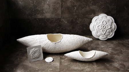 Hanji decorative homeware from TheMeeets, by Been Kim