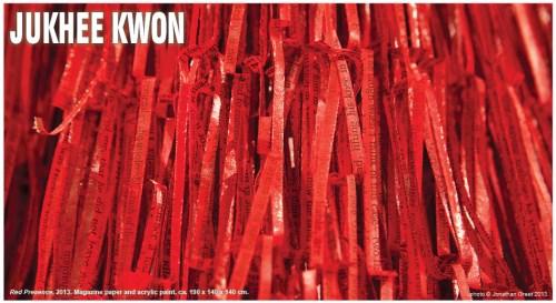 Jukhee Kwon: Red Presence