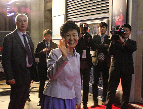 President Park pays a visit to the London Korean Film Festival