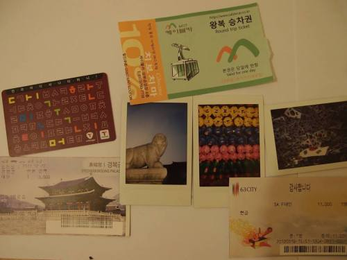 Souvenirs from Seoul