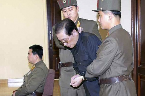 Jang Song Thaek arrest