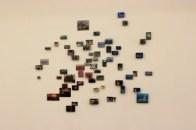 Gayoun Kim, Mementos, oil on block, 2013