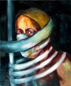Jihoon Son, untitled, oil on canvas, 60x90, 2012