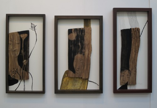 Three works by Yun Suk-nam