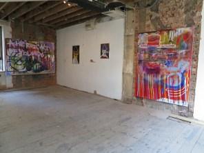 First floor installation view