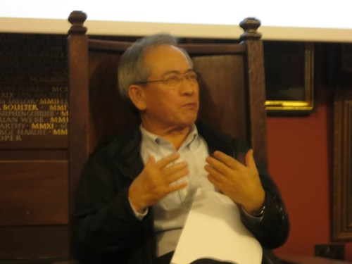 Chun Kwang-young talks about his life and work at the Art Workers Guild