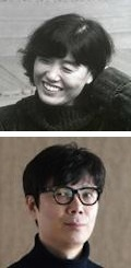 Kim Insuk (top) and Kim Young-ha