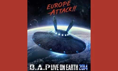 B.A.P Live on Earth tour poster
