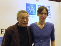 LBF - Hwang Sok-yong with Jo Glanville of English PEN