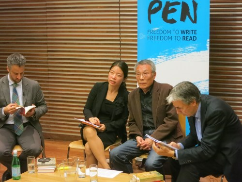 Hwang Sok-yong at the Free Word Centre on 7 April