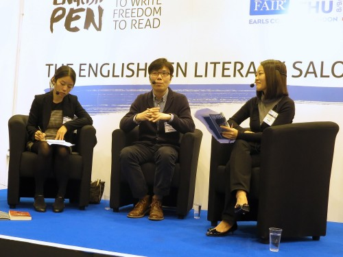 Post image for LBF sketch: Kim Young-ha at the London Book Fair: always adapting to a new environment