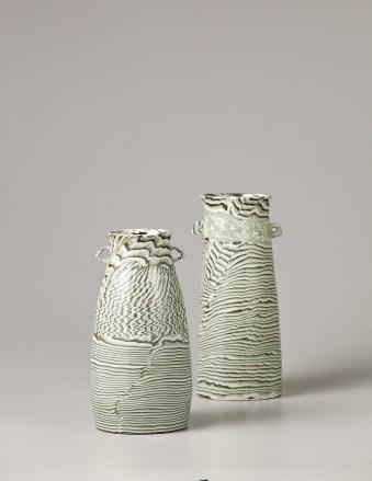 Marbled Celadon Jar. Gwang Yeol Yu